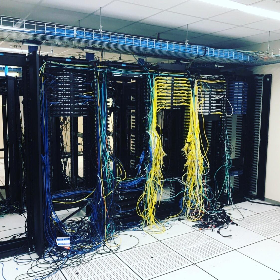 Data Center Emptiness The Packet Wizard Wiring